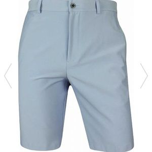 Dunning Player Fit Woven Golf Shorts in Mid dusk